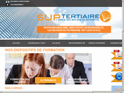 Suptertaire, les formations immobilières